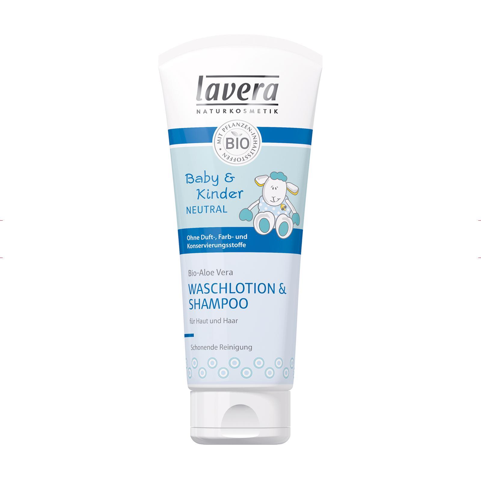 Lavera Vlasový a tělový šampon, Baby Kinder Neutral 200 ml