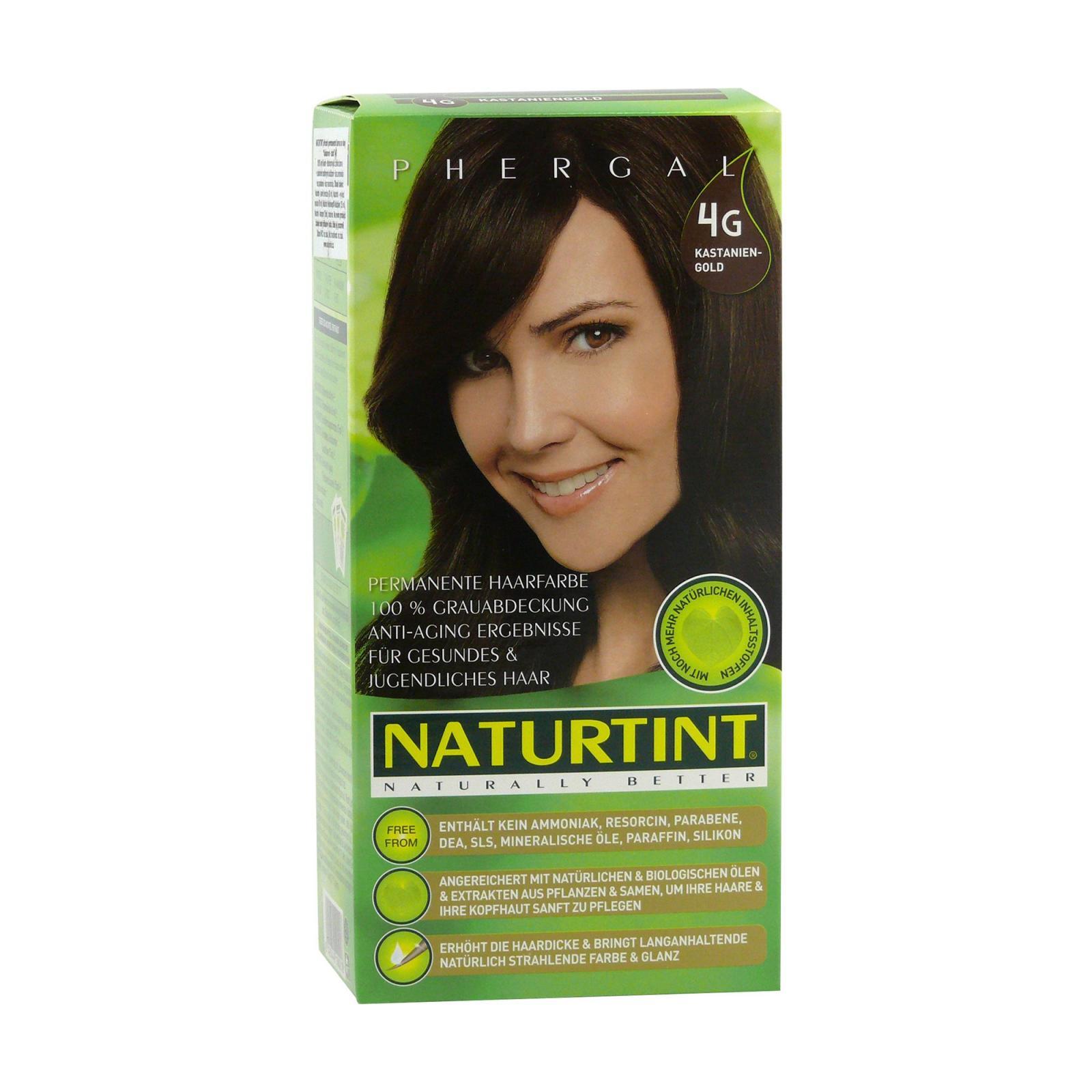 Naturtint Barva na vlasy 4G zlatá kaštanová 165 ml
