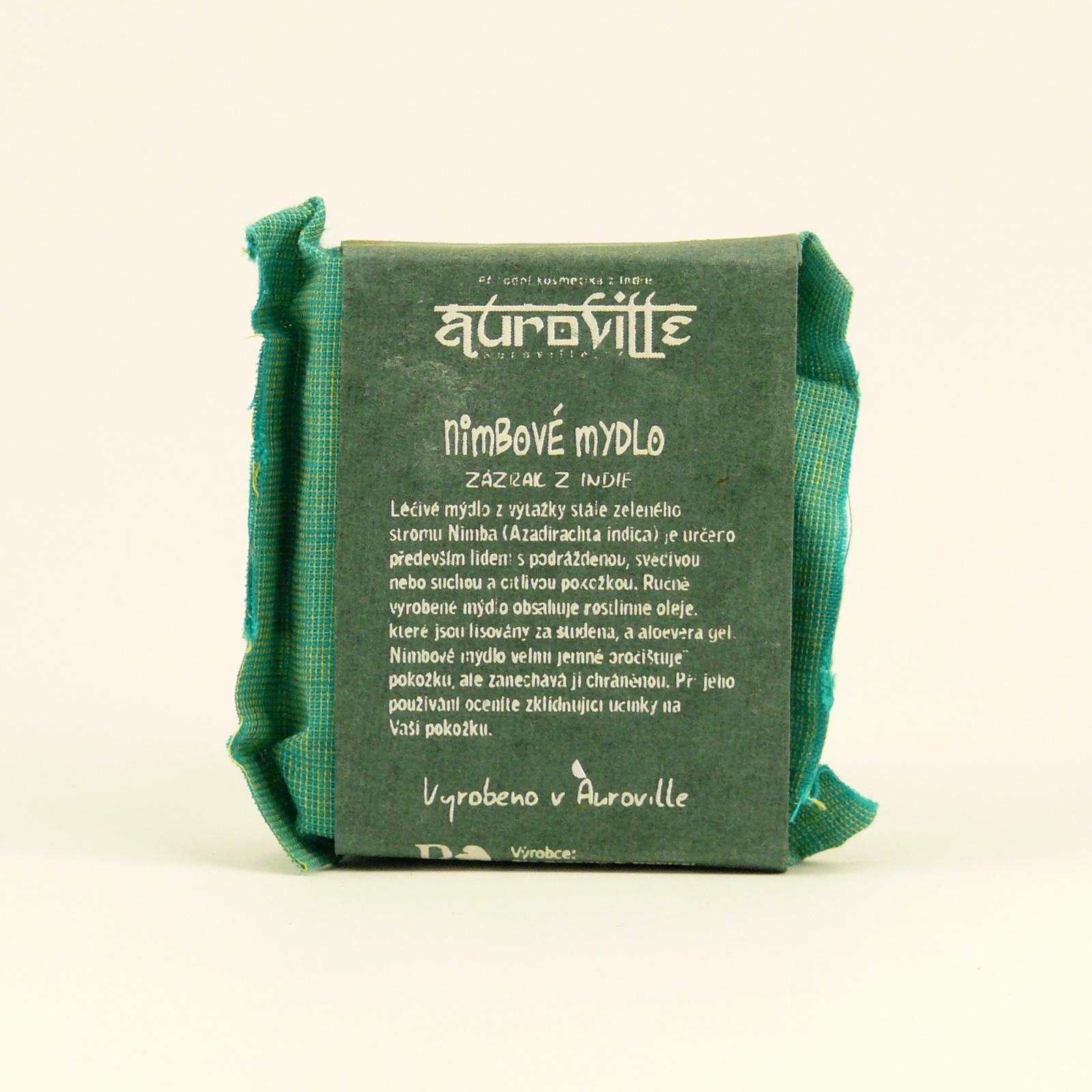 Auroville Mýdlo nimba, Bon Auroville 50 g