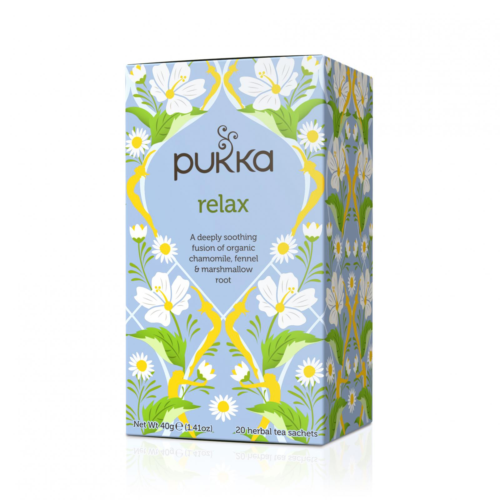 Pukka Čaj ayurvédský Relax 40 g, 20 ks