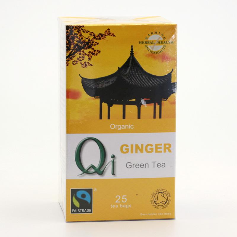 Herbal Health Výprodej Čaj Qi zelený se zázvorem