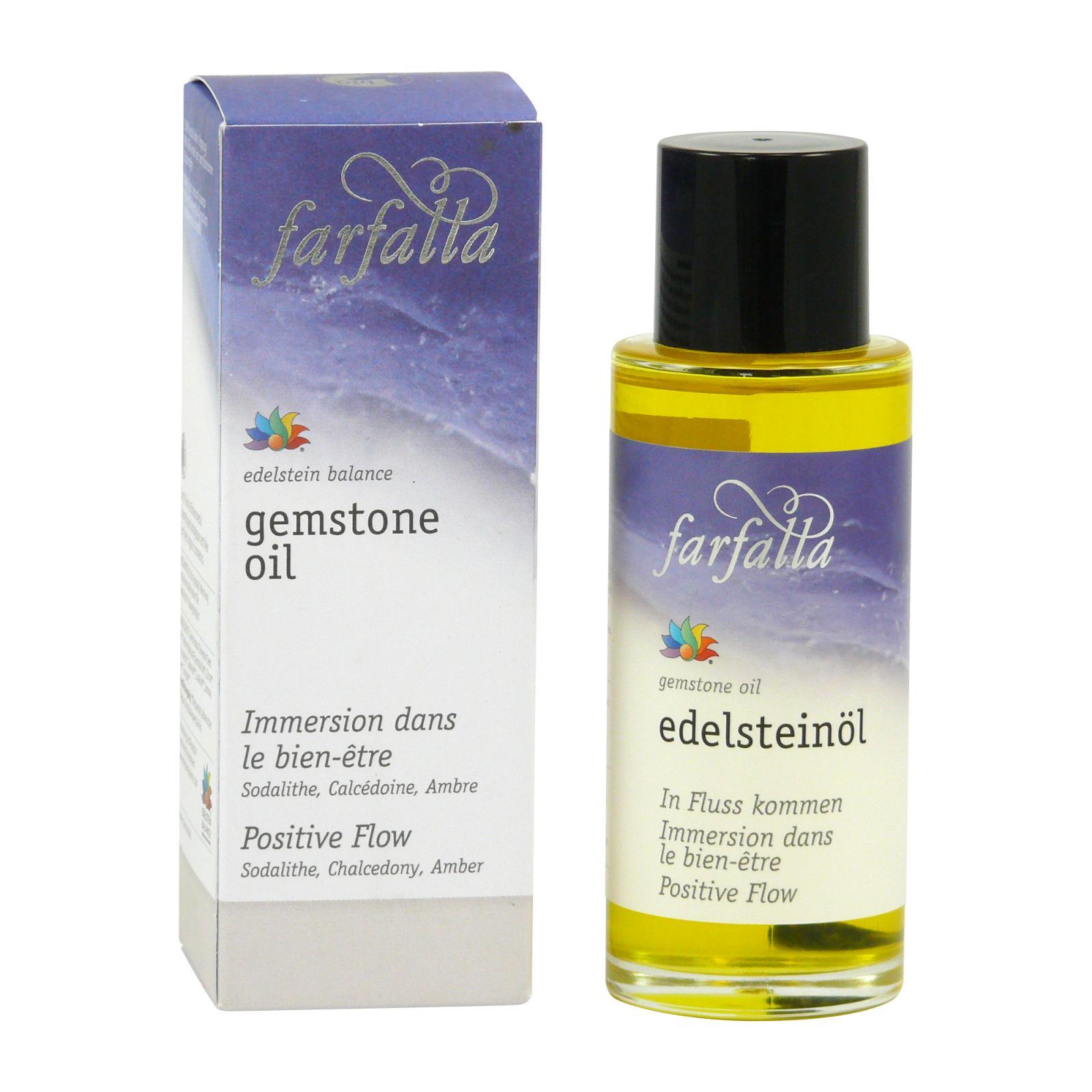 Farfalla Drahokamový pleťový a tělový olej Splývání s proudem 80 ml