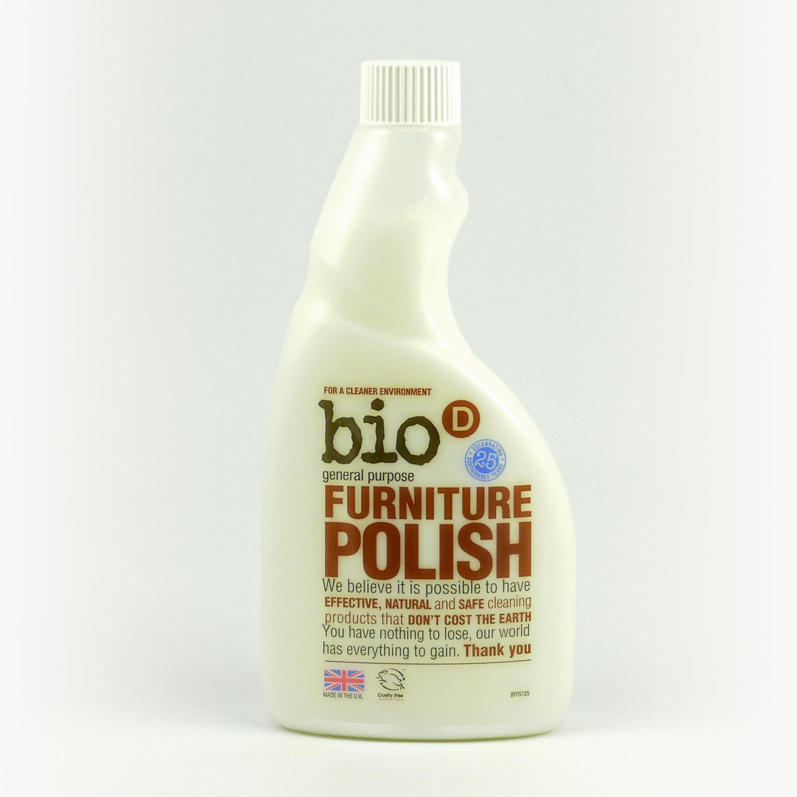Bio-D Čistič na nábytek 500 ml náplň