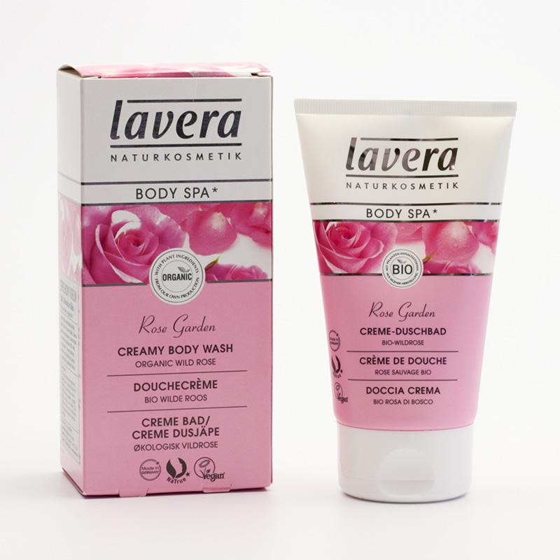 Lavera Sprchový krém divoká růže, Body Spa 150 ml