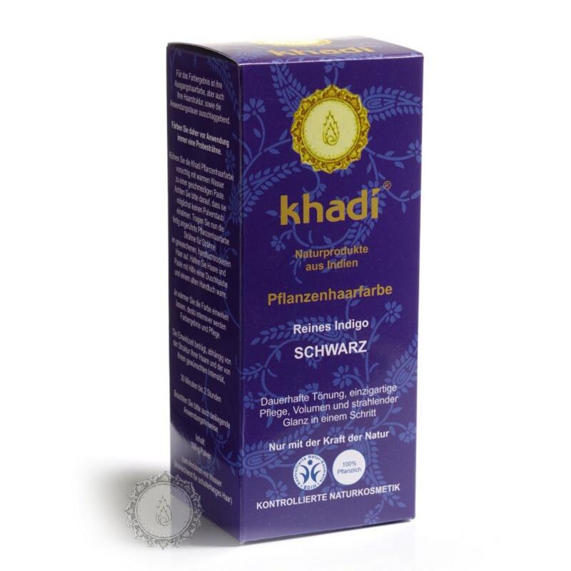 Khadí Rostlinná barva na vlasy Indigo 100 g
