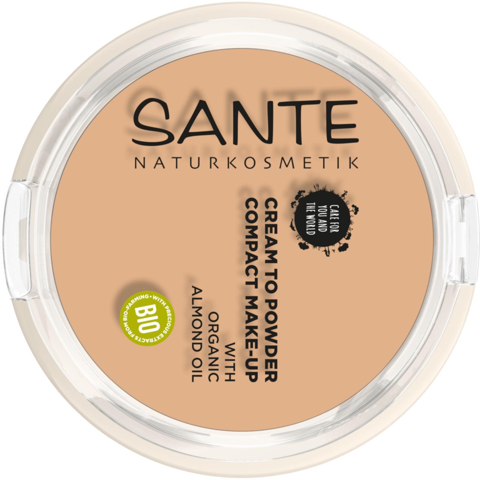 SANTE Kompaktní make-up 02, béžová 9 g