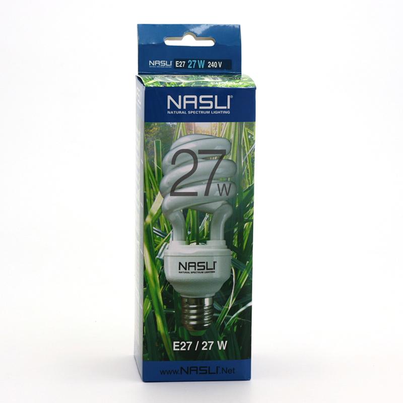 NASLI xxxVýprodej Kompaktní zářivka plnospektrální 27 W, E27 1 ks