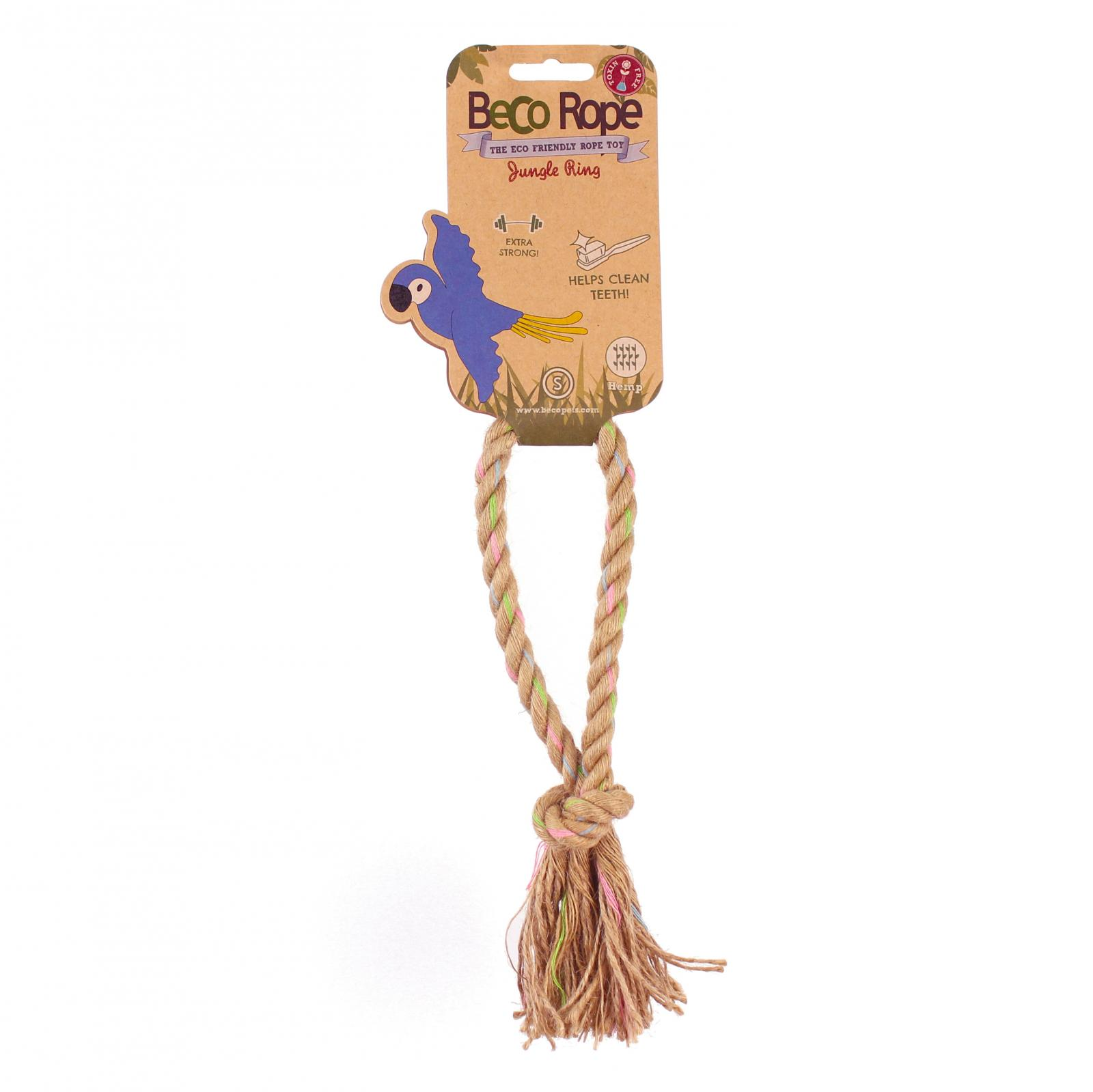 Beco Pets Beco Rope Jungle Ring Small 1 ks