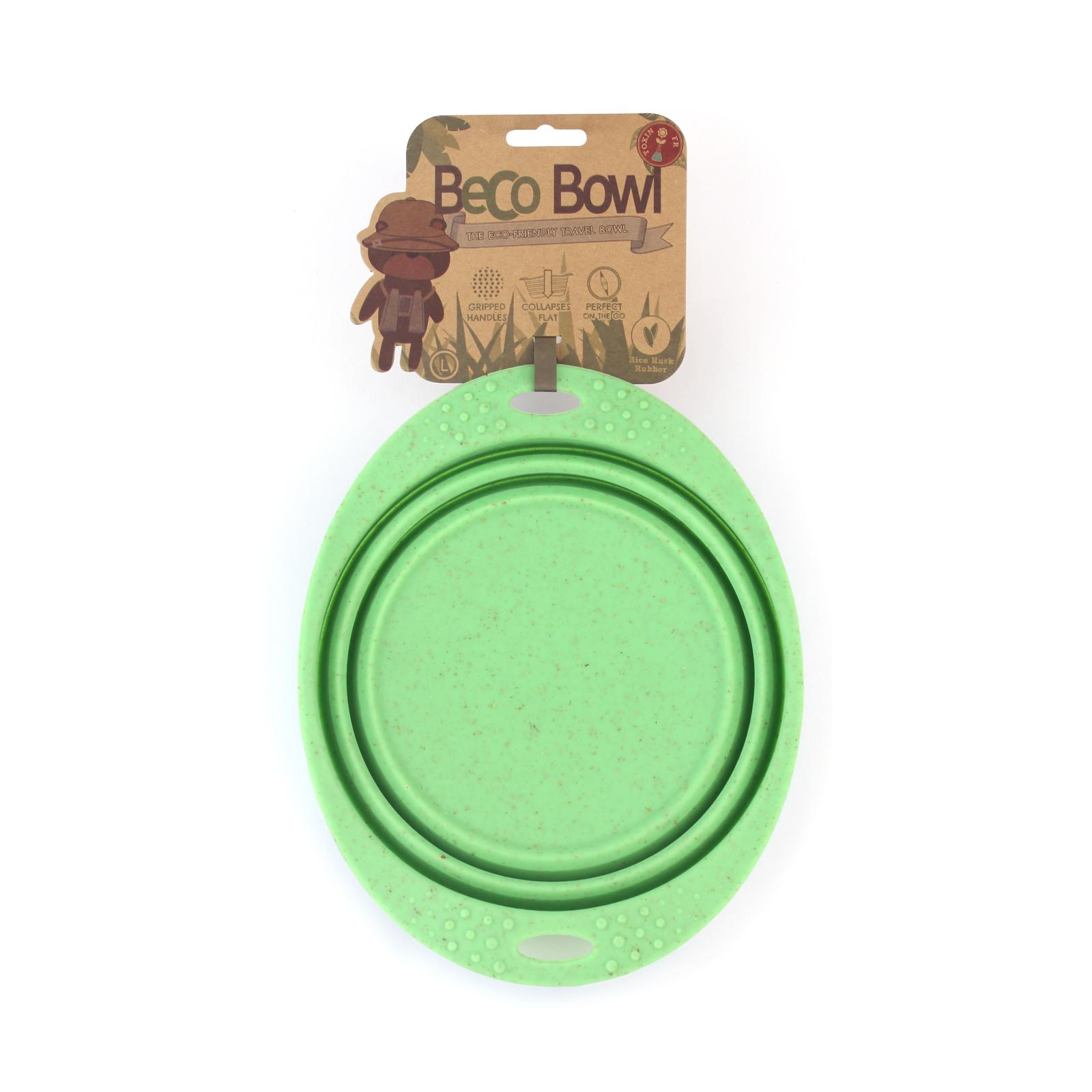 Beco Pets Beco Travel Bowl Large 1 ks, zelená