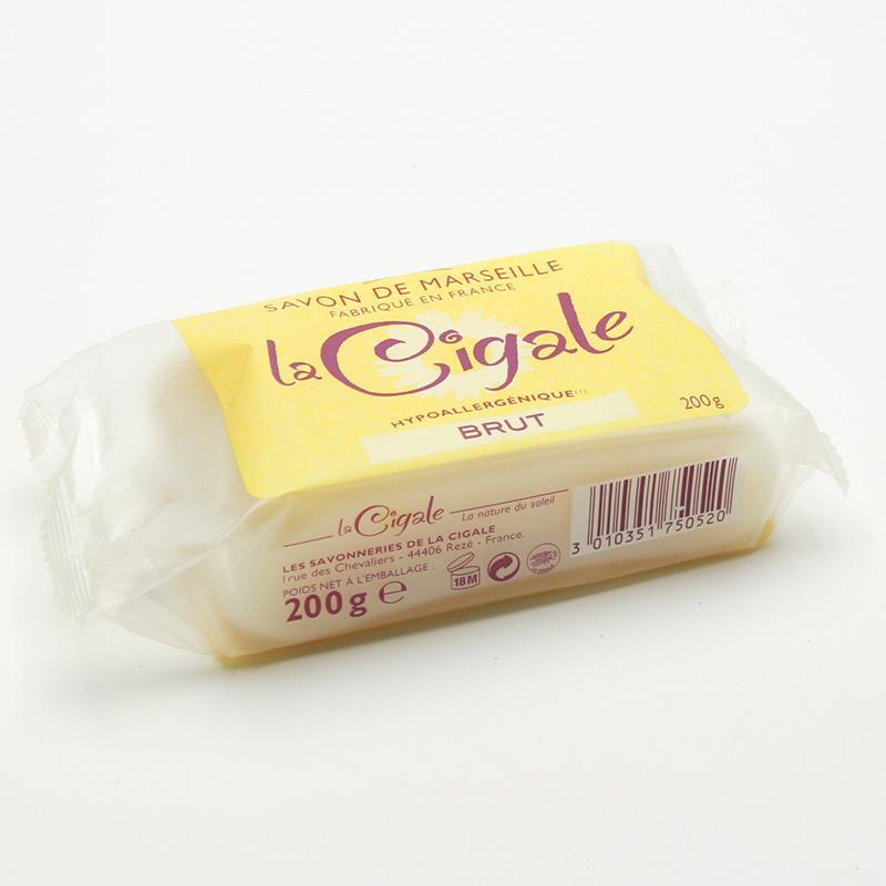 Cigale BIO xxxVýprodej Marseillské hypoalergenní koupelové mýdlo, La Cigale 200 g
