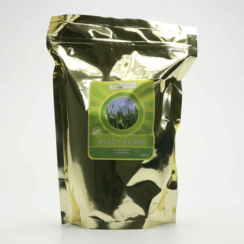 Aida Organic Mladý ječmen, prášek 500 g