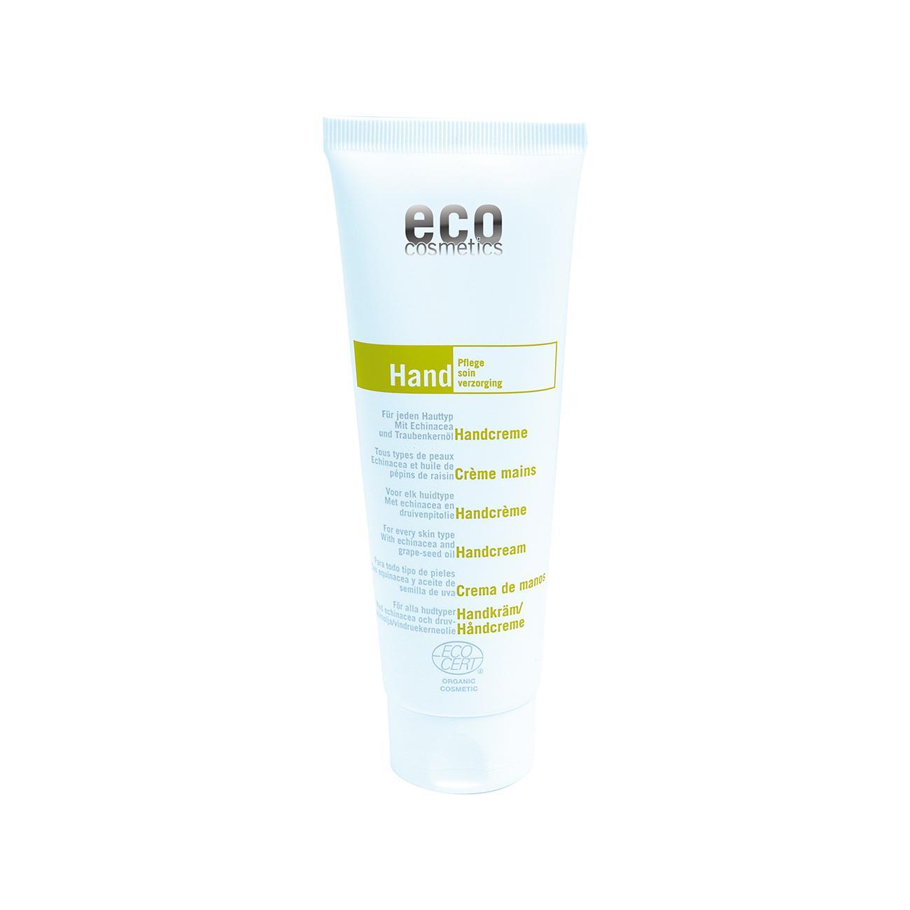 Eco Cosmetics Krém na ruce echinacea/olej z hroznových jader 125 ml