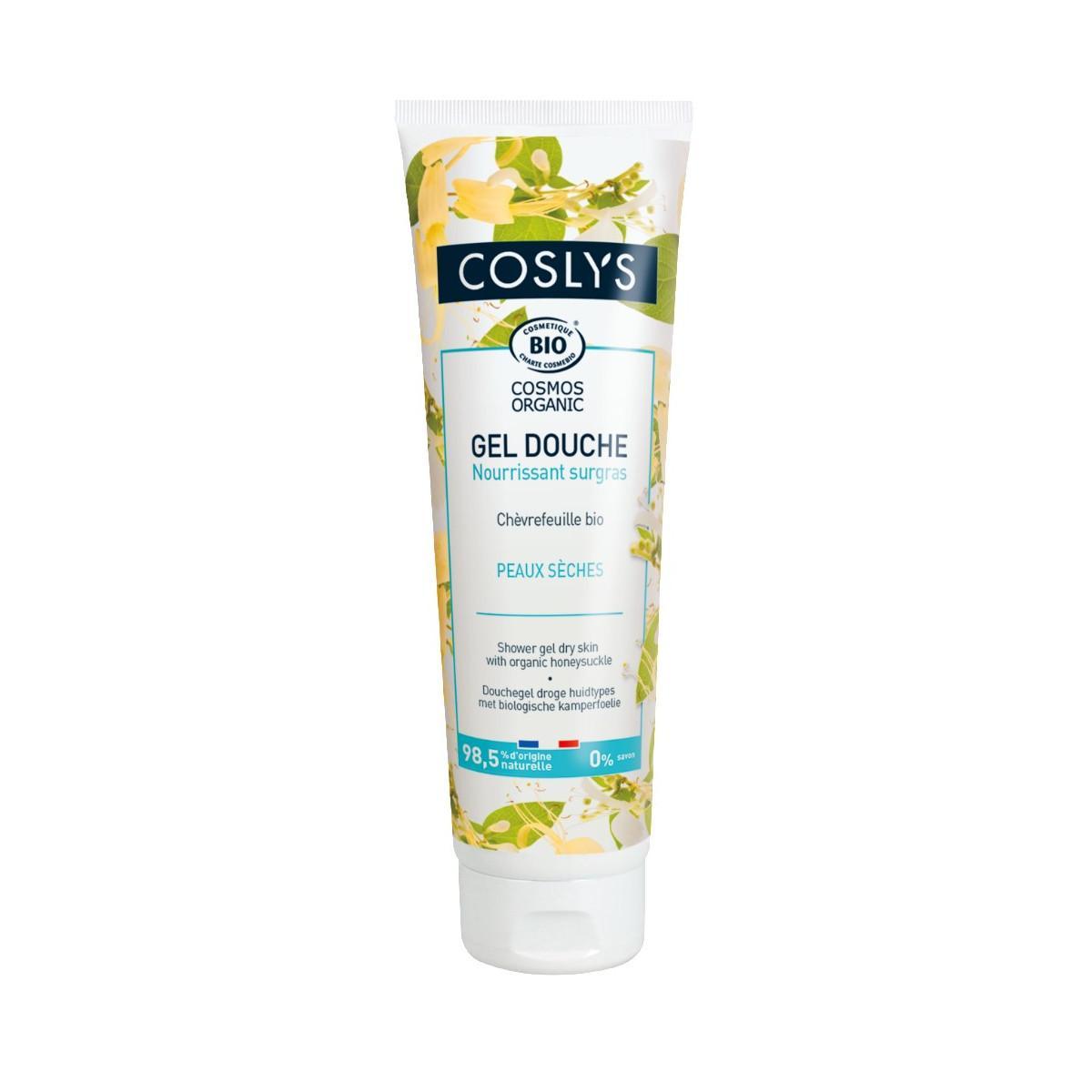 Coslys Sprchový gel na suchou pokožku zimolez 250 ml