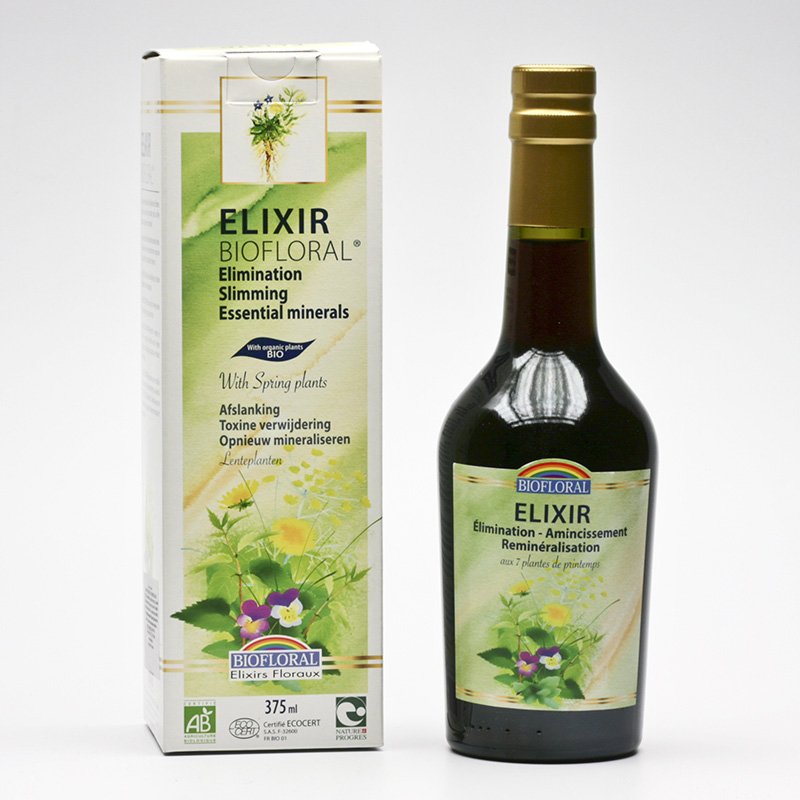 Biofloral Elixír eliminace, zeštíhlení, remineralizace 375 ml