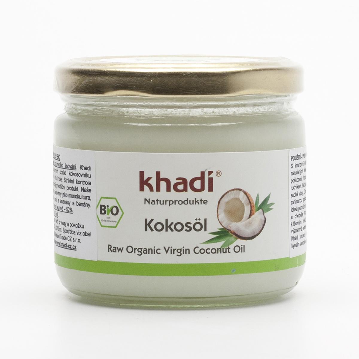 Khadí Kokosový olej 250 g (270 ml)
