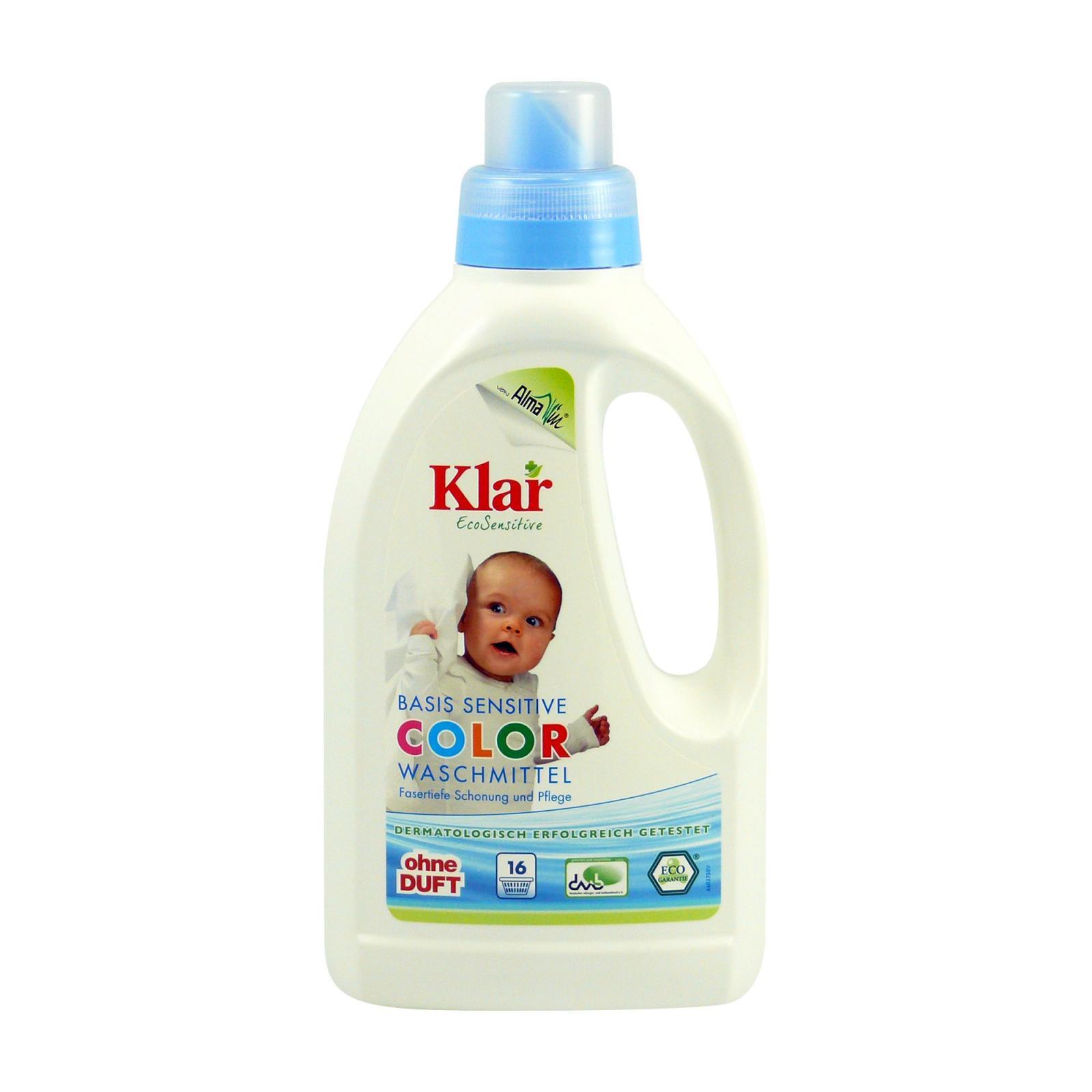 Klar Prací gel na barevné prádlo 750 ml