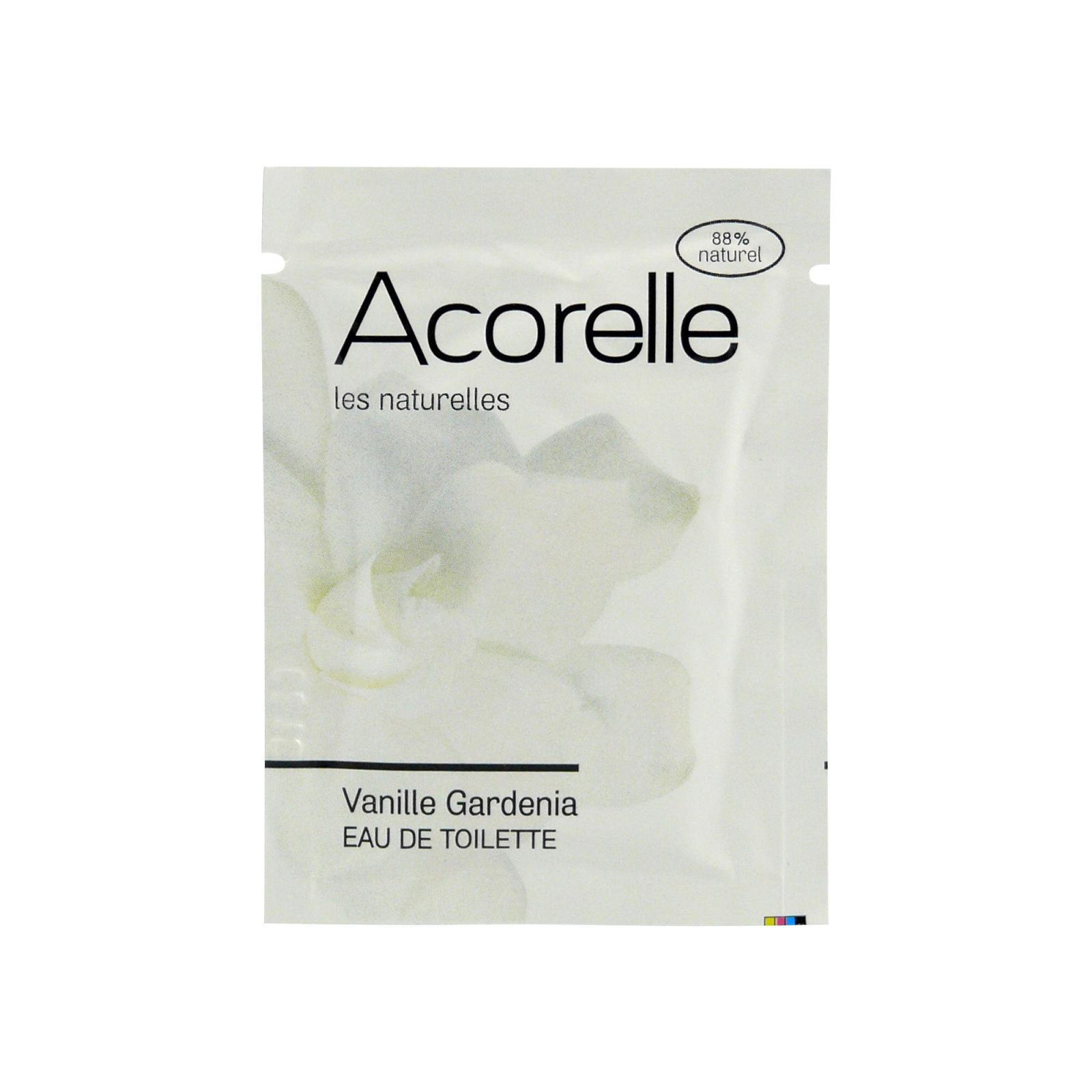 Acorelle Toaletní voda Gardenia 3 ml, vonný kapesník