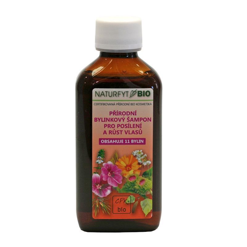 Naturfyt Šampon bylinkový pro posílení a růst vlasů 200 ml