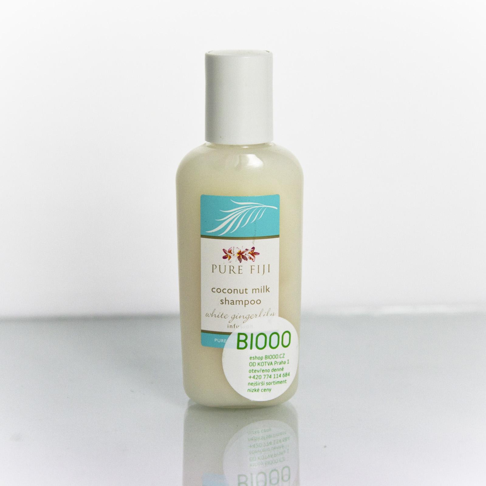 Pure Fiji Kokosový šampon, zázvor 59 ml