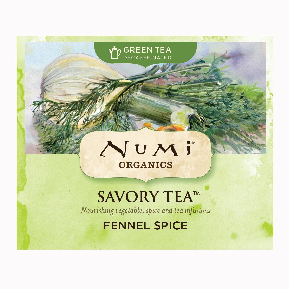 Numi Kořeněný čaj Fennel Spice, Savory Tea 1 ks, 4,2 g