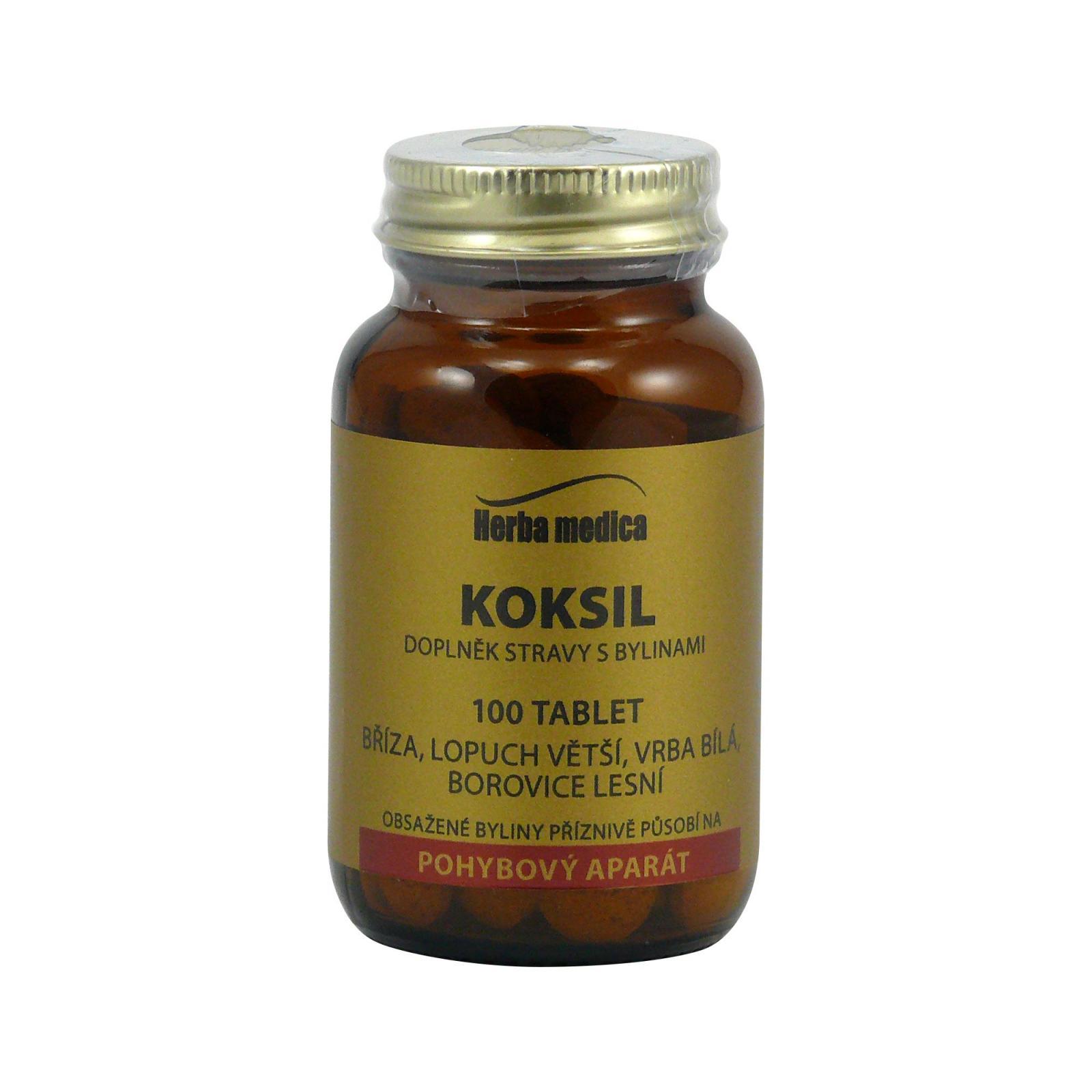 Herba Medica Koksil 50 g,100 ks (tablet)