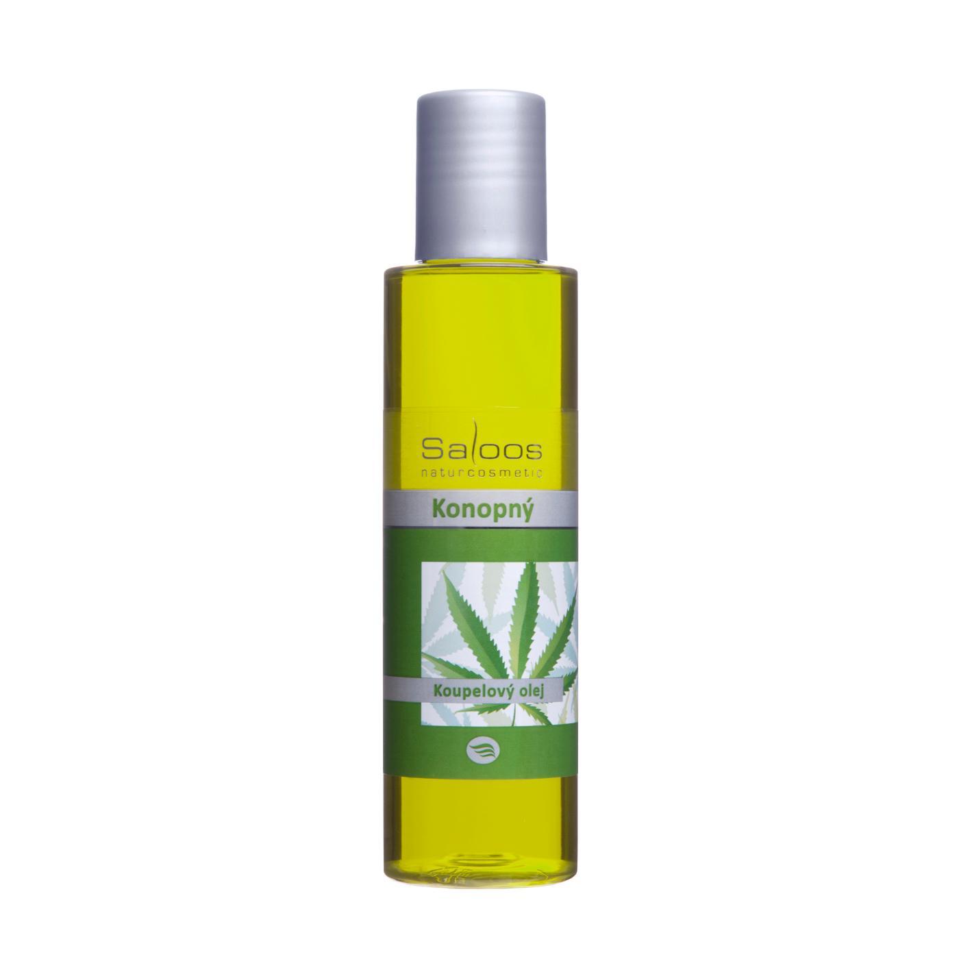 Saloos Koupelový olej konopí 125 ml