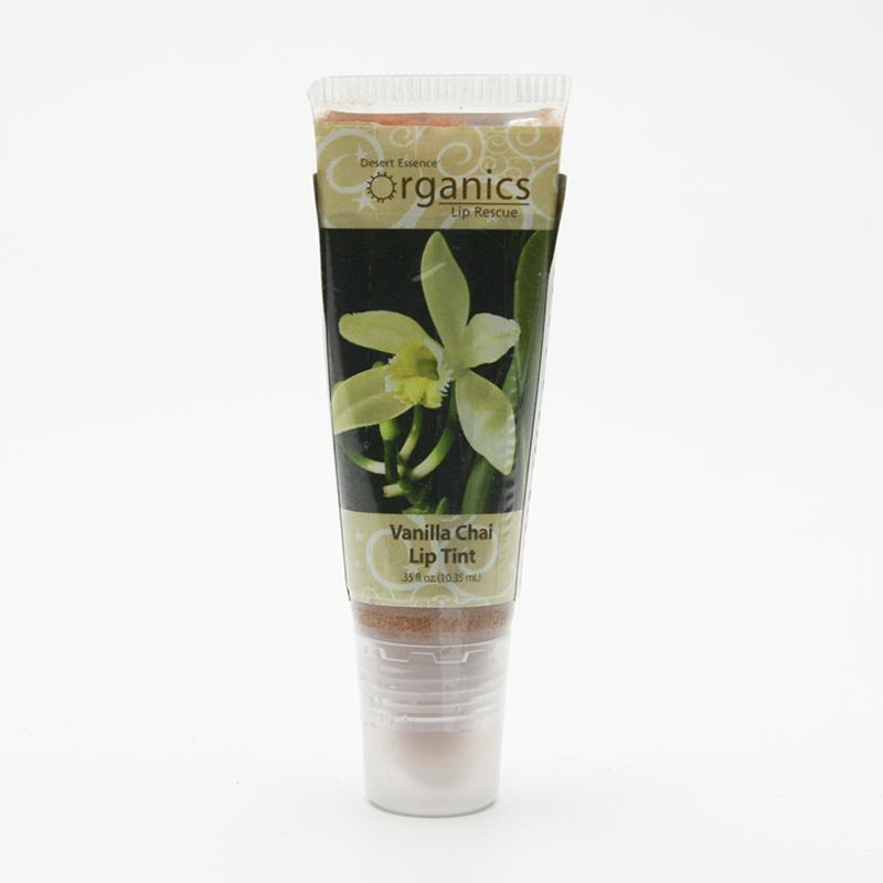 Desert Essence Lesk na rty vanilka 10,35 ml