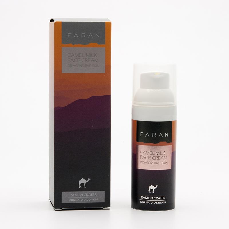 Faran Krém na suchou a citlivou pleť Camel Milk, Anti-Age 50 ml
