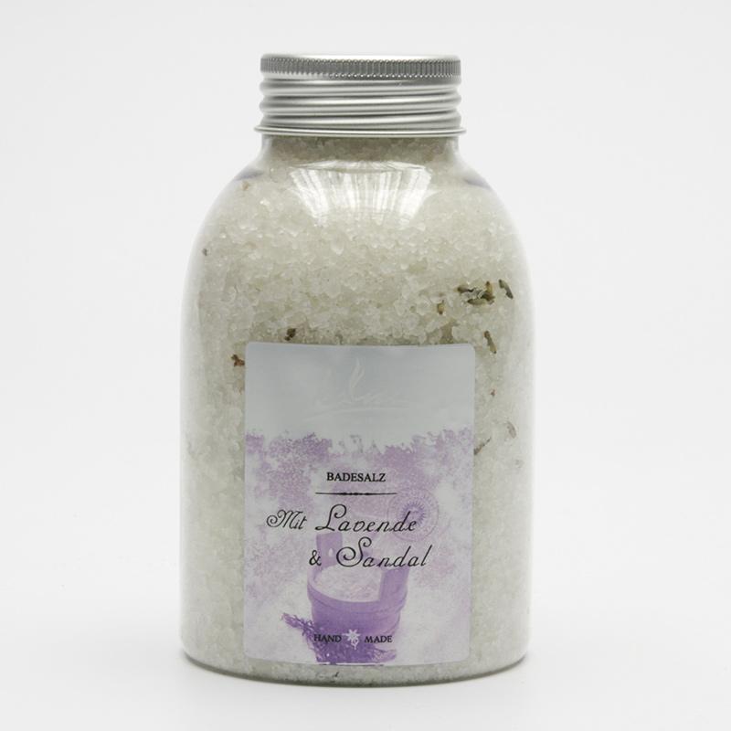 Kanu  ZRUŠENO Koupelová minerální sůl levandule a santal 550 g