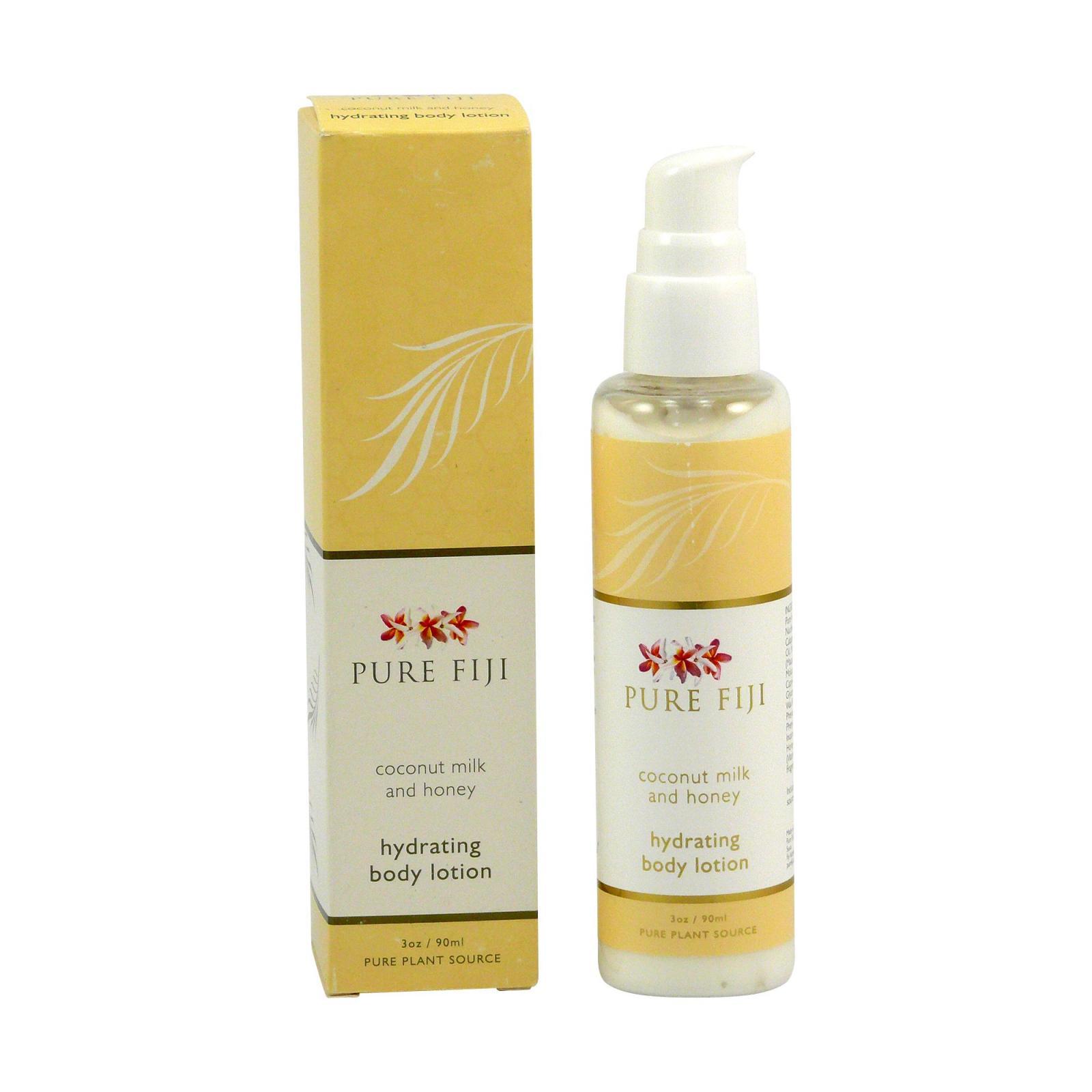 Pure Fiji Hydratační tělové mléko, mléko & med 90 ml