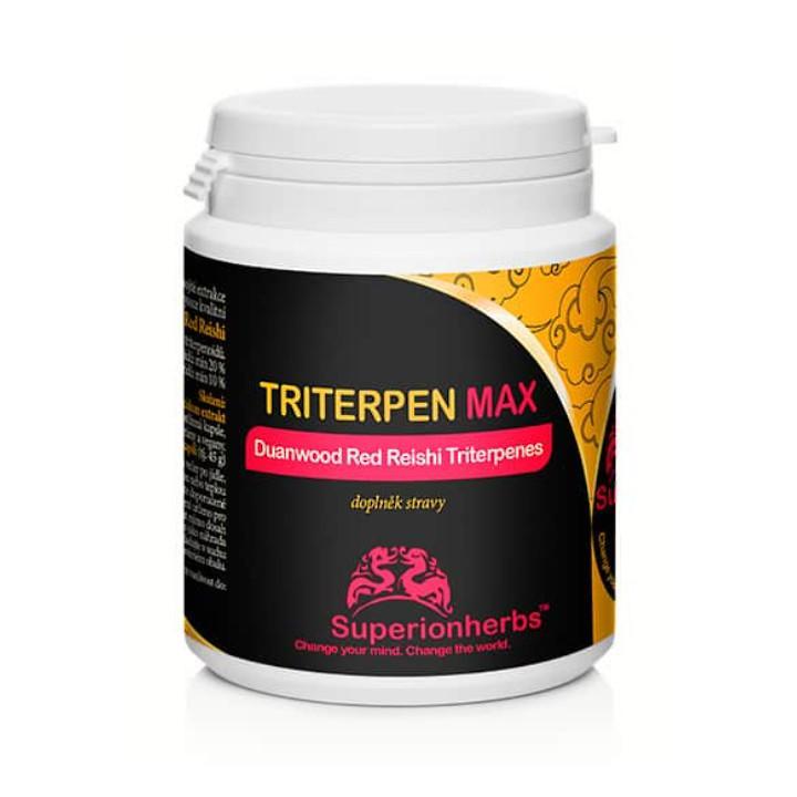 Superionherbs Triterpen Max, kapsle 90 ks