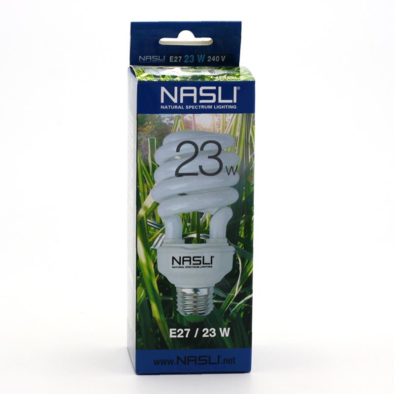 NASLI xxxVýprodej Kompaktní zářivka plnospektrální 23 W, E27, 6000 K 1 ks