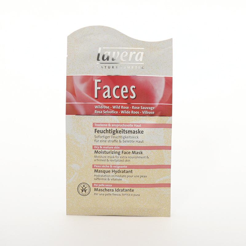 Lavera Hydratační maska divoká růže, Faces 10 ml
