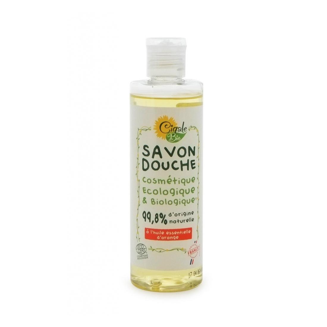 Cigale BIO Sprchový gel s pomerančovým olejem 250 ml