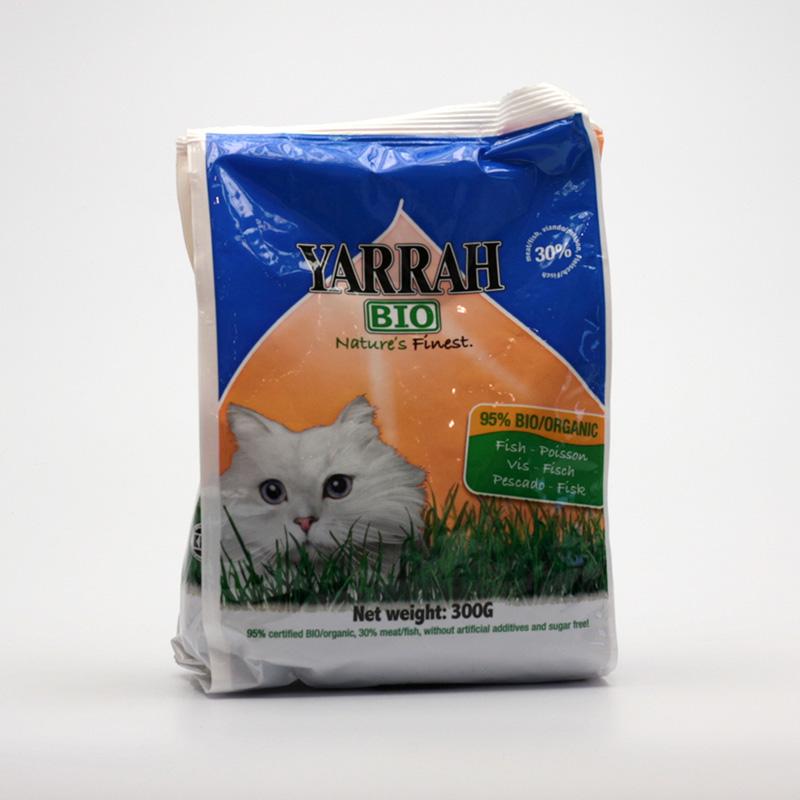 Yarrah Výprodej Granule pro kočky rybí 300 g
