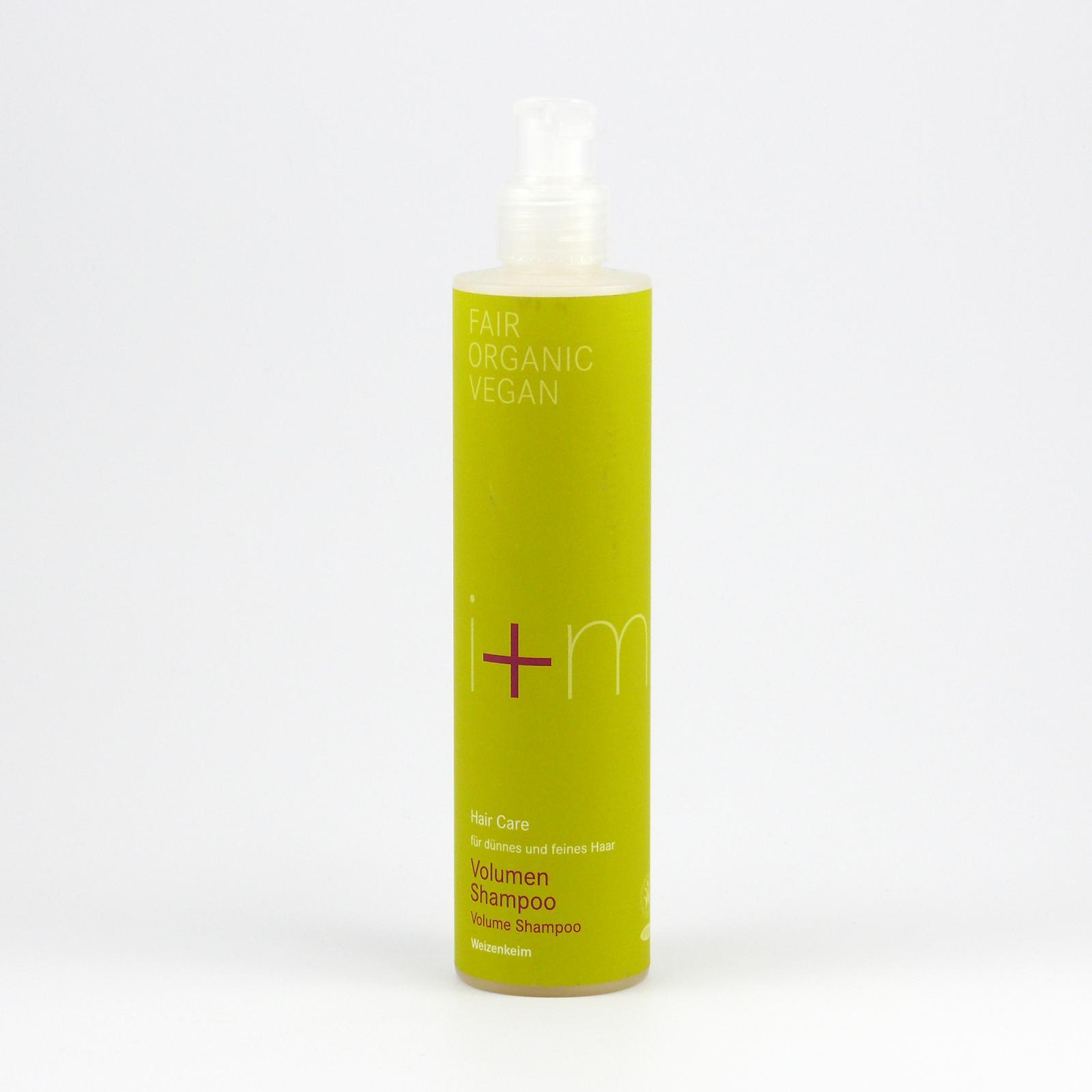 I+M Naturkosmetik Šampon Objem pšeničných klíčků 250 ml