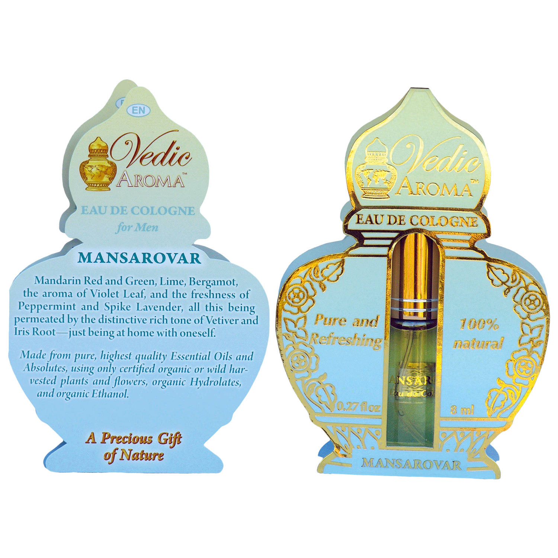 Vedic Aroma Ayurvédská kolínská voda Mansarovar 8 ml, sprej