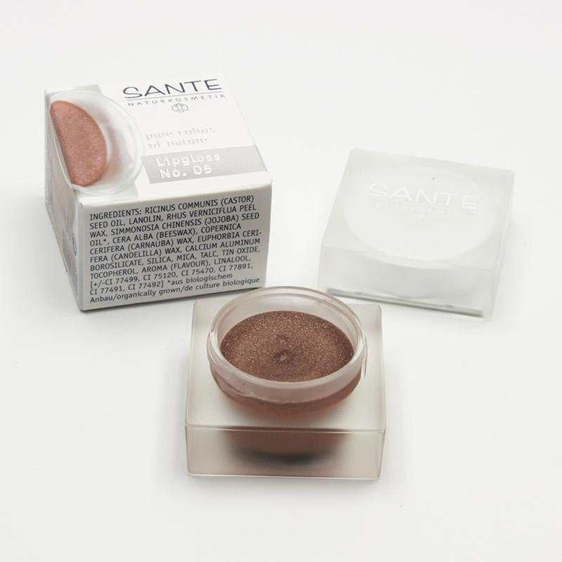Santé Lesk na rty 05, shiny cassis 3 ml