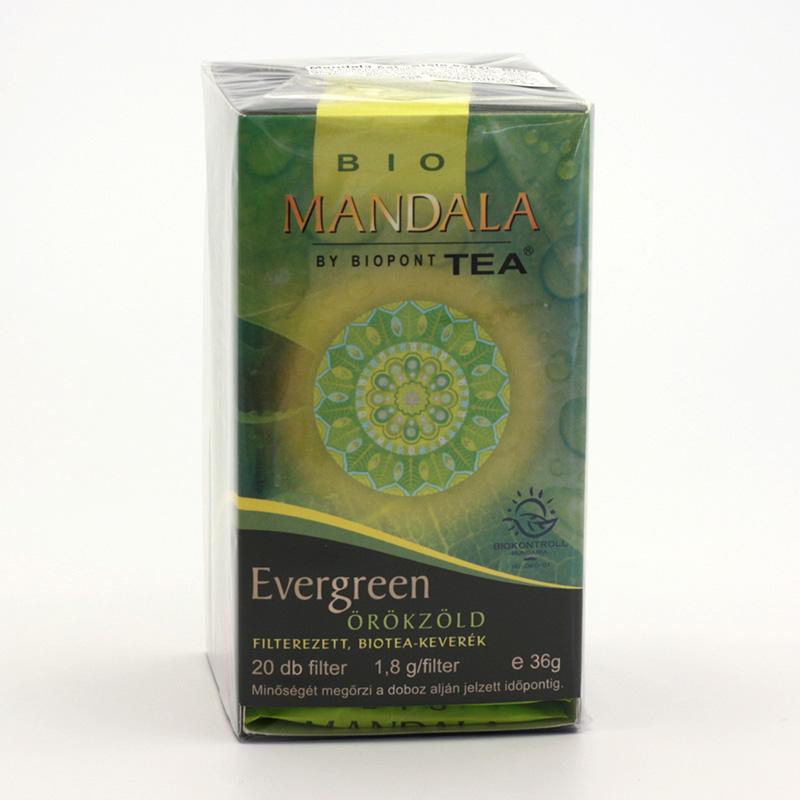Biopont Čaj Mandala Evergreen, stále svěží 36 g