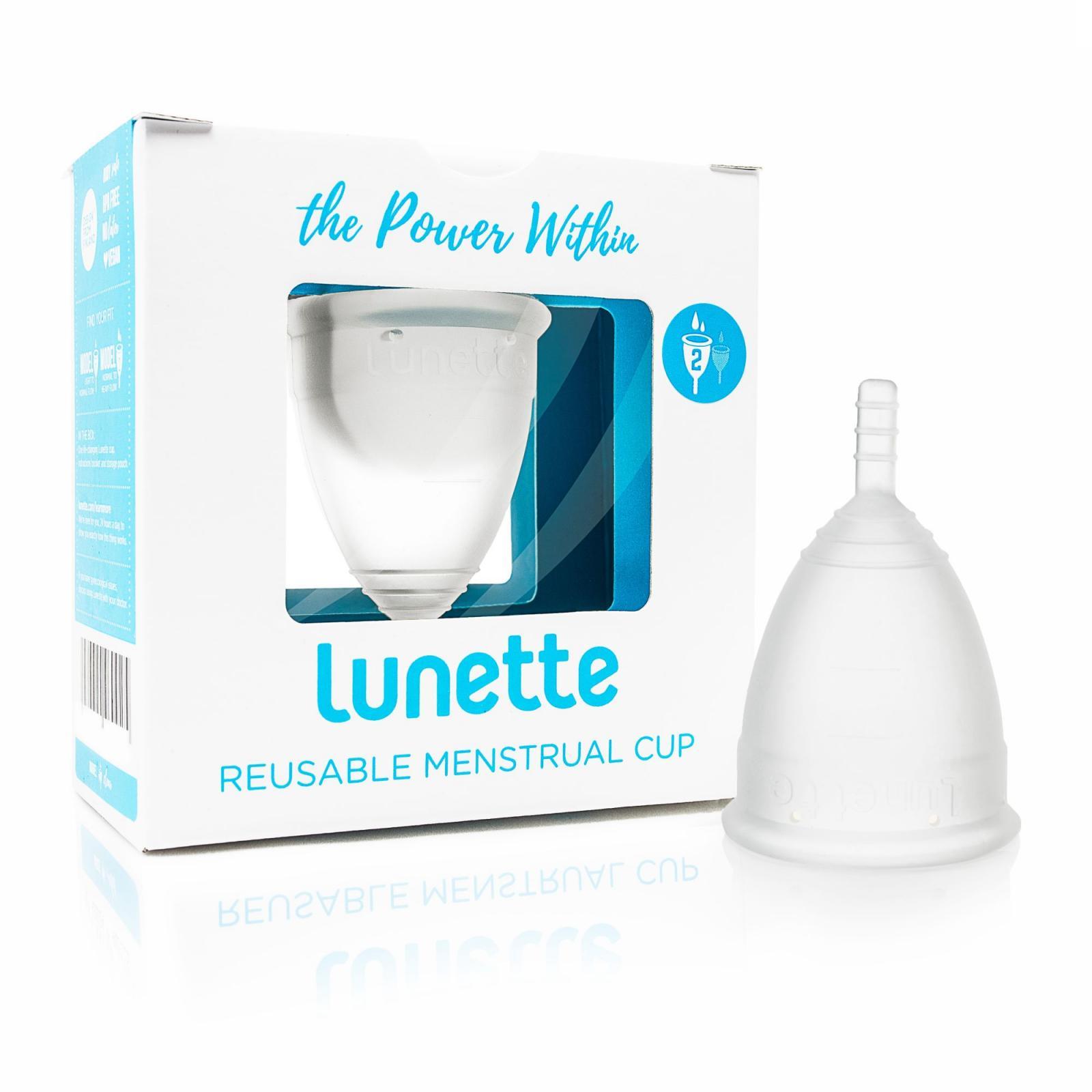 Lunette Menstruační kalíšek model 2 (větší), čirý 1 ks