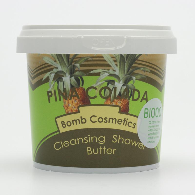 Bomb Cosmetics Tuhý sprchový krém Piňa Colada 320 g