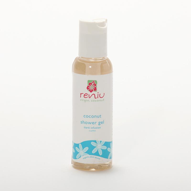 Reniu Fiji Sprchový gel z kokosového mléka, gardénie 59 ml