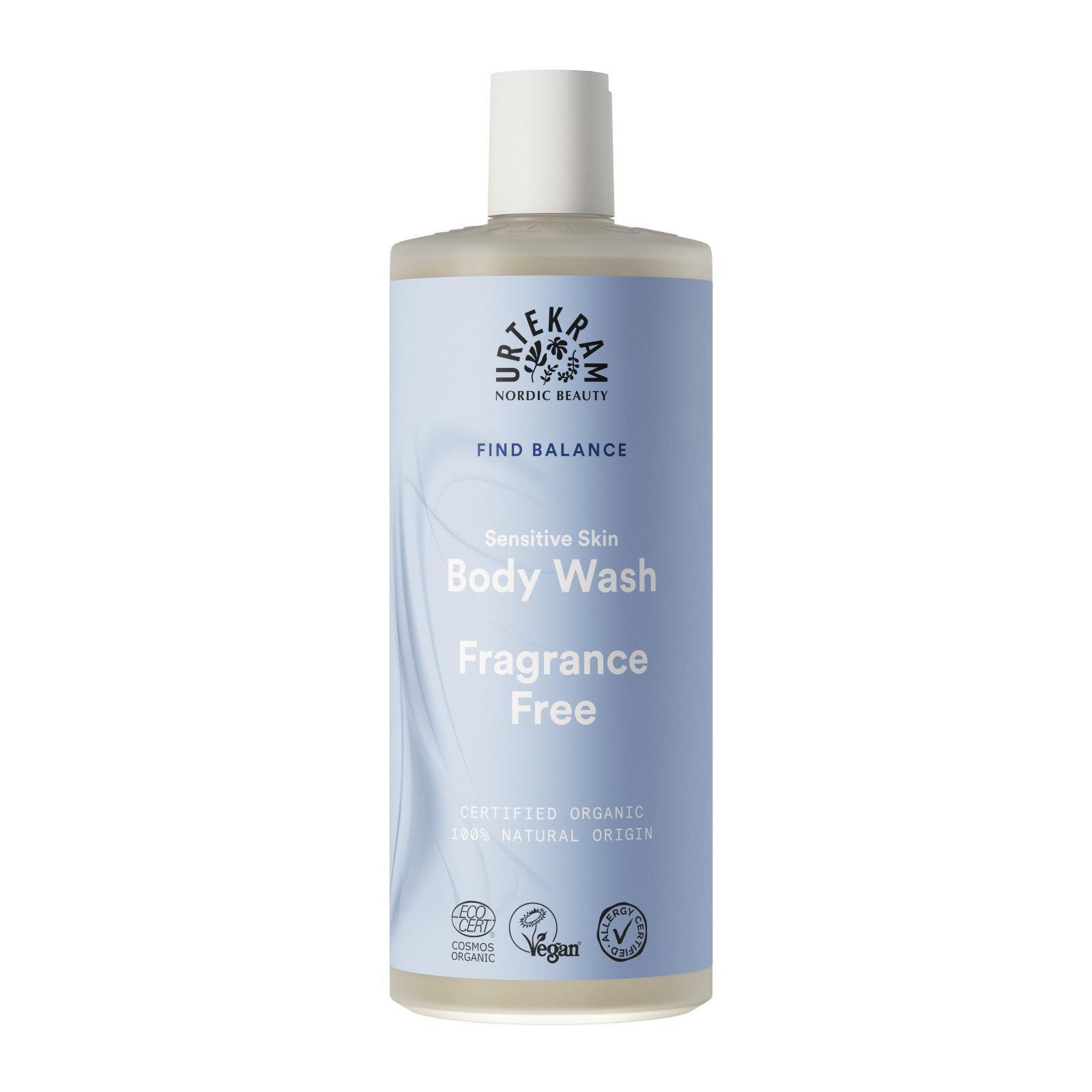 Urtekram Sprchový gel bez parfemace 500 ml