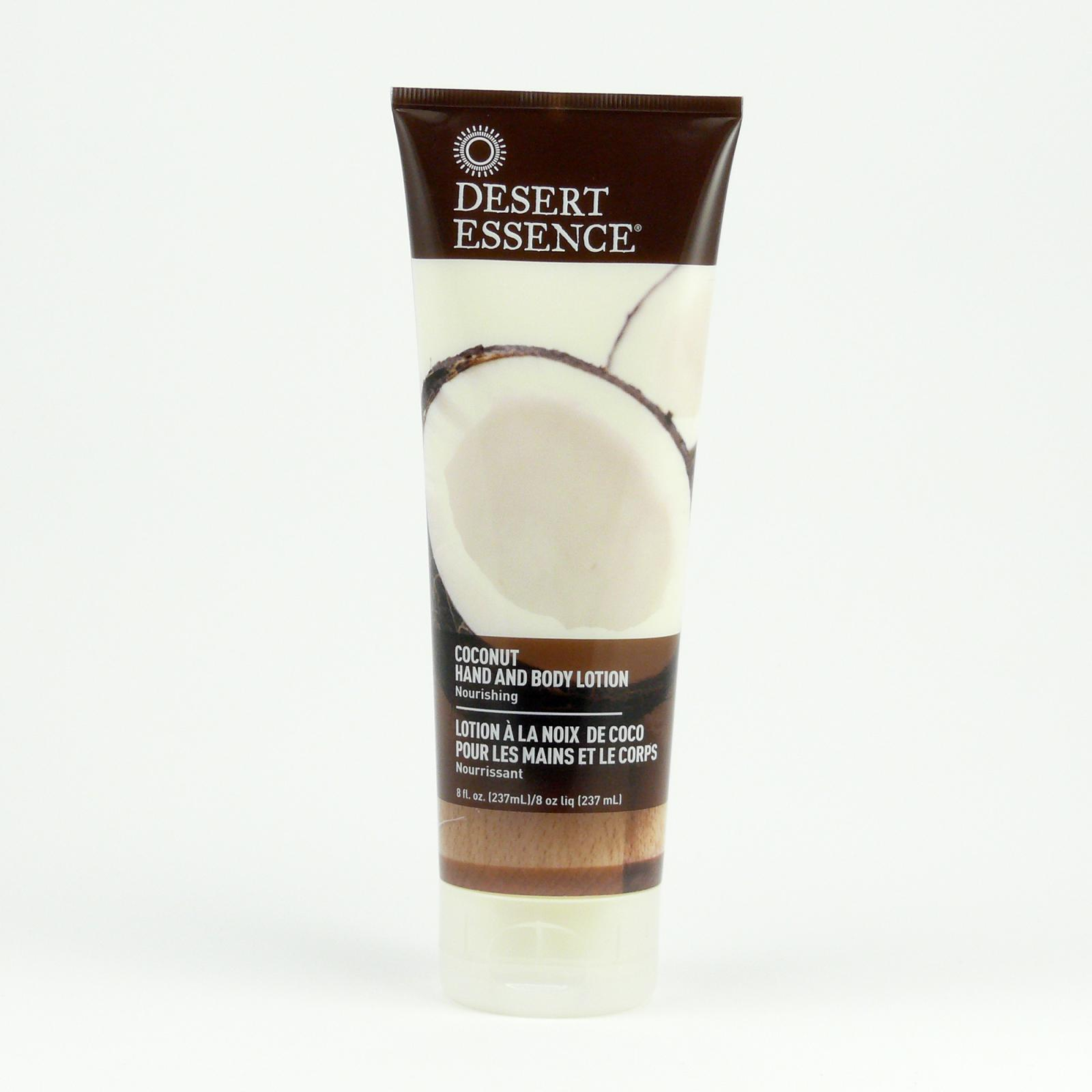 Desert Essence Tělové mléko kokos 237 ml