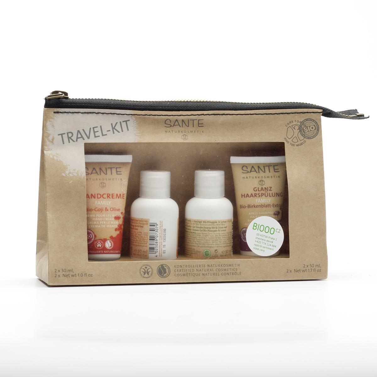 Santé Cestovní či dárková sada, Travel Kit 4 ks