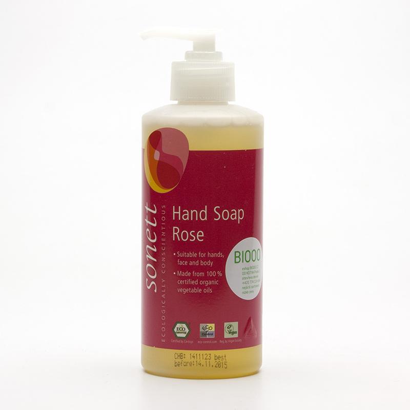 Sonett Tekuté mýdlo na ruce růže 300 ml