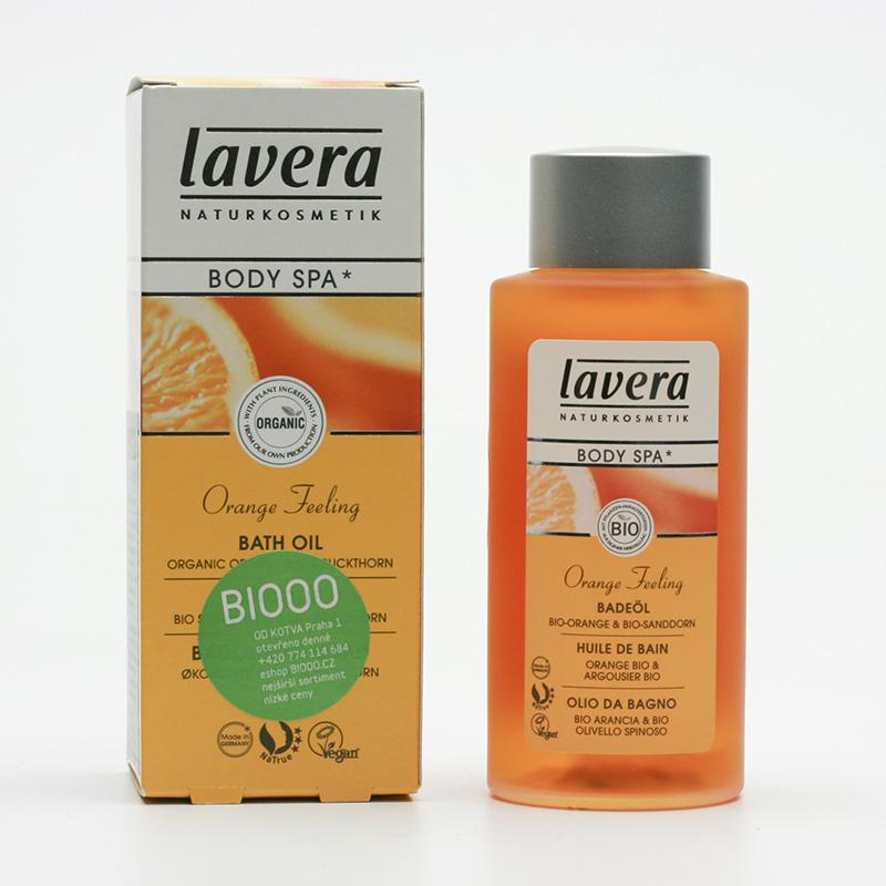 Lavera Koupelový olej pomeranč a rakytník, Body Spa 100 ml
