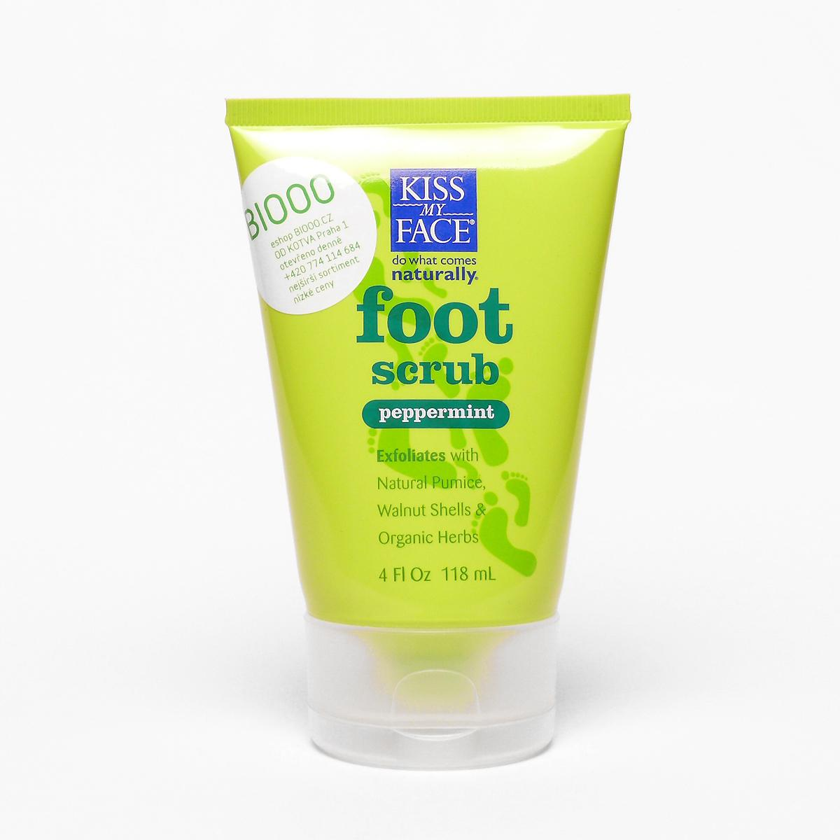 Kiss My Face Corp. Peeling na nohy, Foot Scrub 118 ml