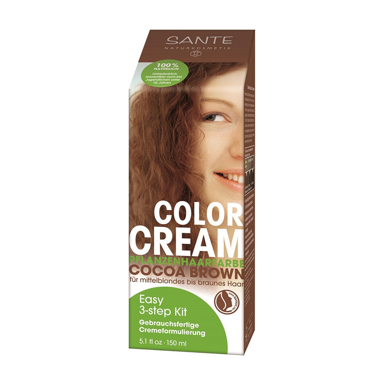 Santé Krémová barva na vlasy kakaově hnědá 150 ml