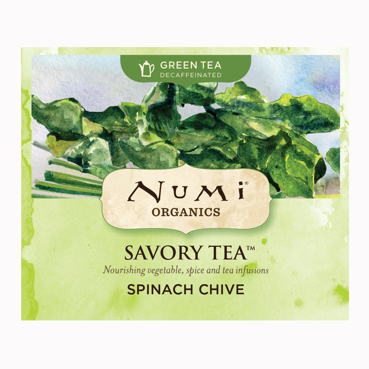 Numi Kořeněný čaj Spinach Chive, Savory Tea 1 ks